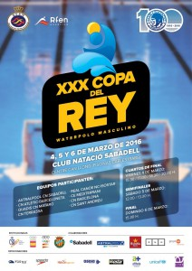 Copa del Rey waterpolo