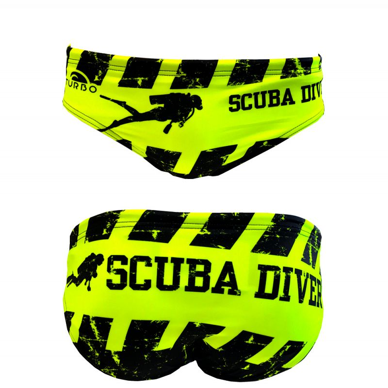 WP Men Swimsuit Scuba Diver
