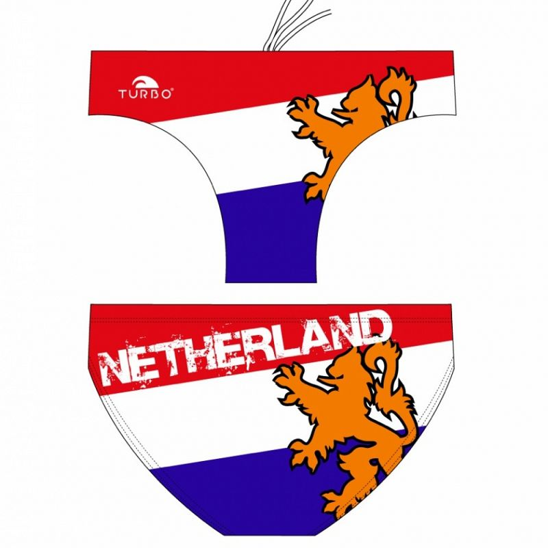 Water polo swimsuit Netherland Flag