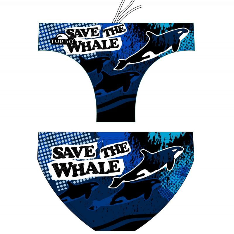 Water polo swimsuit Save The Whale