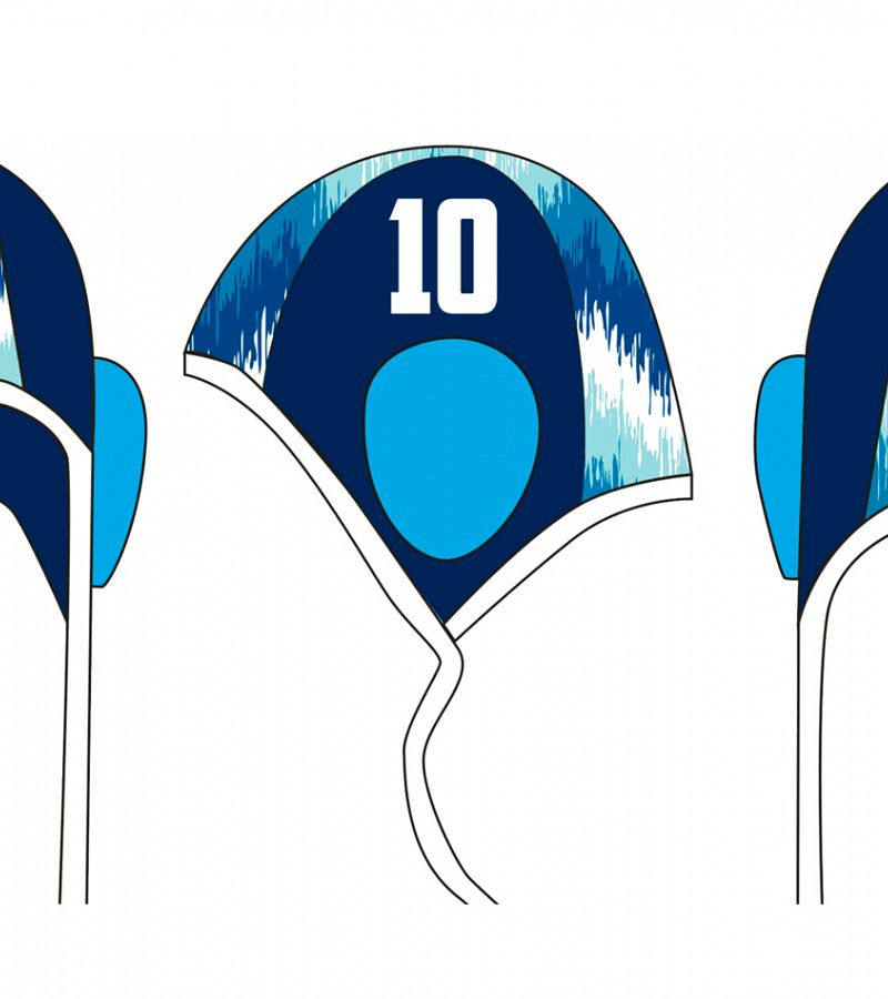 Gorro Waterpolo Brescia - Chevron