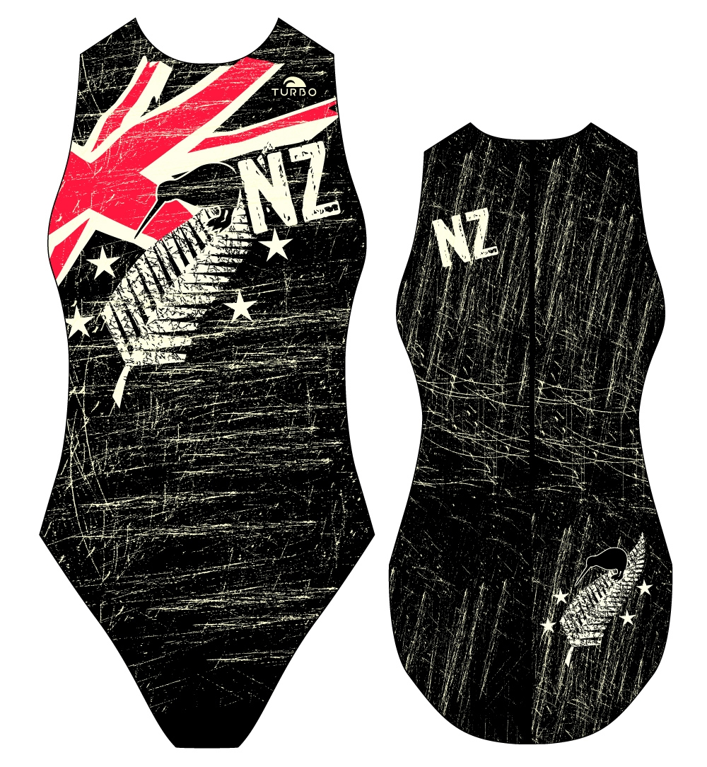 Water polo swimsuit New Zealand Vintage 2013 - Turbo