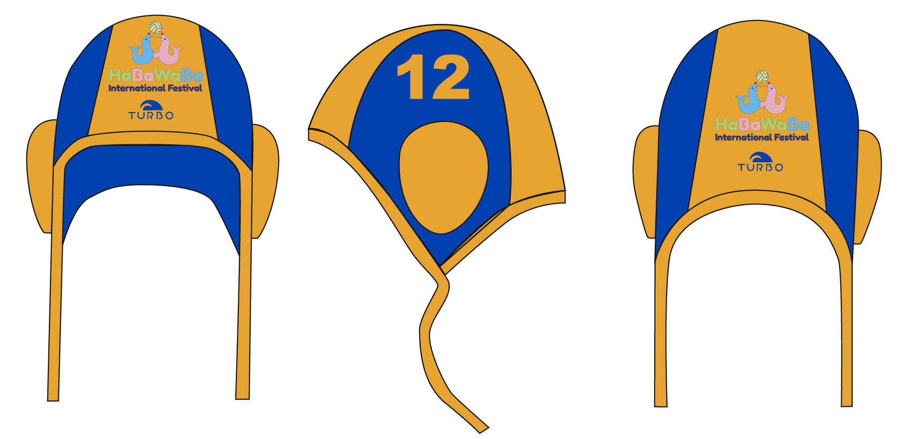 6a19f0bee Water Polo Cap HABAWABA - Turbo